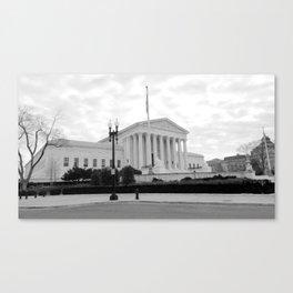 supreme court photography Canvas Print