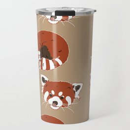Red panda Travel Mug