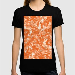 Minimal Shapes Peach Orange Skintones Abstract Pattern Digital Art Print Art Print T-shirt