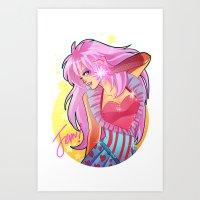 jem Art Prints featuring Jem by HanieMohd