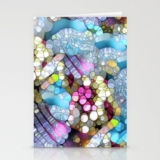 Coctails at the pool. Stationery Cards