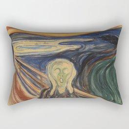 """Edvard Munch """"The Scream"""", 1910 Rectangular Pillow"""