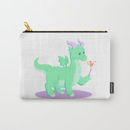 Kawaii fantasy animals - European Dragon Carry-All Pouch