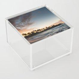 Sunrise at Poipu beach in Kauai, Hawaii Acrylic Box