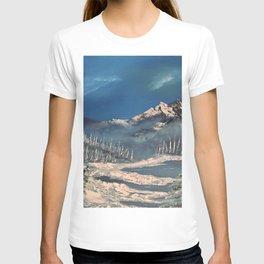 Ice Fields - winter day T-shirt