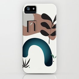 Shape study #8 - Synthesis Collection iPhone Case