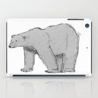 polar bear iPad Cases featuring Polar Bear by jamestomgray