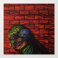 birdman Canvas Prints featuring Birdman by Thom Whalen