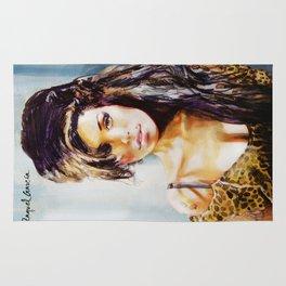 Winehouse Portrait 3 Rug