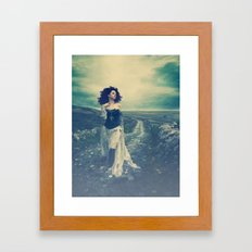 The Grass Can Be Greener On The Other Side Framed Art Print
