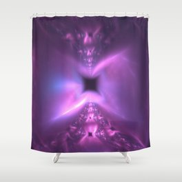 Temple of Nothingness and Stardust Shower Curtain