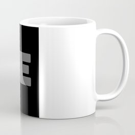 to live dangerously Coffee Mug