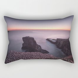 Muriwai Gannet Colony Rectangular Pillow