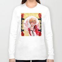 les mis Long Sleeve T-shirts featuring les miseràbles: st. enjolras by Daniela Viçoso