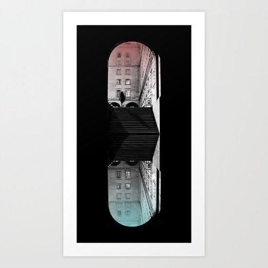 traveling pill Art Print