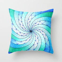 The Vortex Throw Pillow