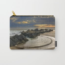 Windy Tarifa beach. Wild swiming pools. Carry-All Pouch