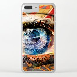 FORTUNE TELLER Clear iPhone Case