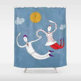 time to love Shower Curtain