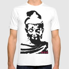 Buddha Mens Fitted Tee White MEDIUM