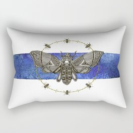 Death Moth and His Friends Rectangular Pillow