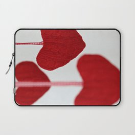 christmas decoration and valentine heart shape Laptop Sleeve