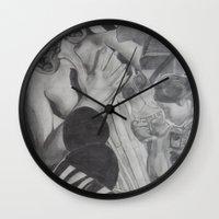 dorothy Wall Clocks featuring Dorothy by JMarGo