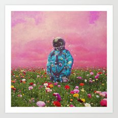 The Flower Field Art Print