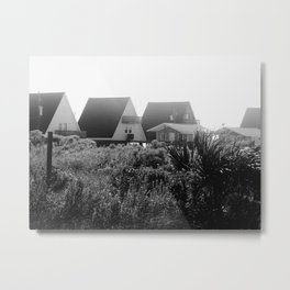 A-Frames (Grayscale) Metal Print