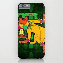 Yaxchilan - Maya Tiger iPhone Case