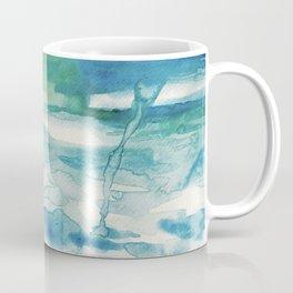 Miami Beach Watercolor #2 Coffee Mug