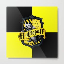 HUFFLEPUFF POTTER Metal Print