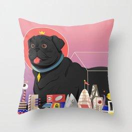 Casa Canis Throw Pillow