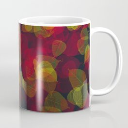 Psychedelic Autumn Leaves Coffee Mug