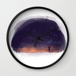 Big Wide World Wall Clock