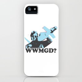 What would MacGyver Do? iPhone Case