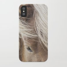 Icelandic Horse Slim Case iPhone X