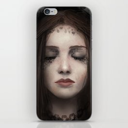 darkness within iPhone Skin