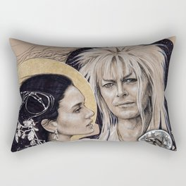 """And I have done it all for you"" Rectangular Pillow"