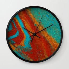 Blue2 Wall Clock
