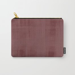 Burgandy & Lace Carry-All Pouch