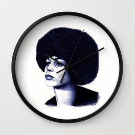 Angela Davis Wall Clock