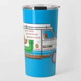 2 Bros. Plumbing Van Travel Mug