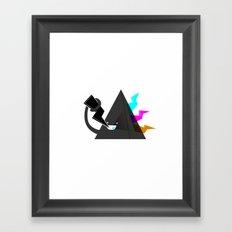 Dark Side of the Noms Framed Art Print