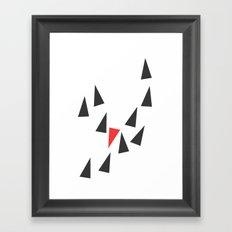 Opposite I Framed Art Print