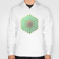 boho Hoodies featuring Boho Medallions by Lisa Argyropoulos