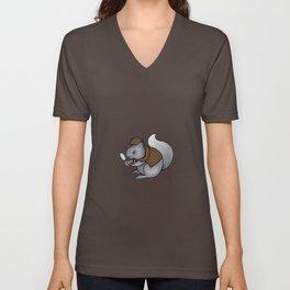 Squirrel-lock Holmes Unisex V-Neck