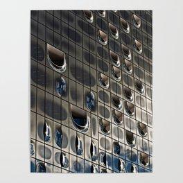 Metallic reflection Poster