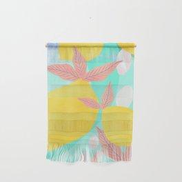 Pink Lemonade - Shapes and Layers no.32 Wall Hanging