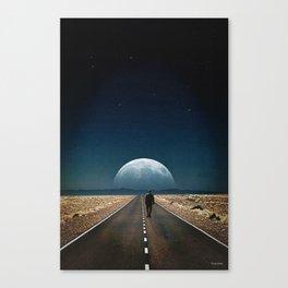 Walking away ... Canvas Print